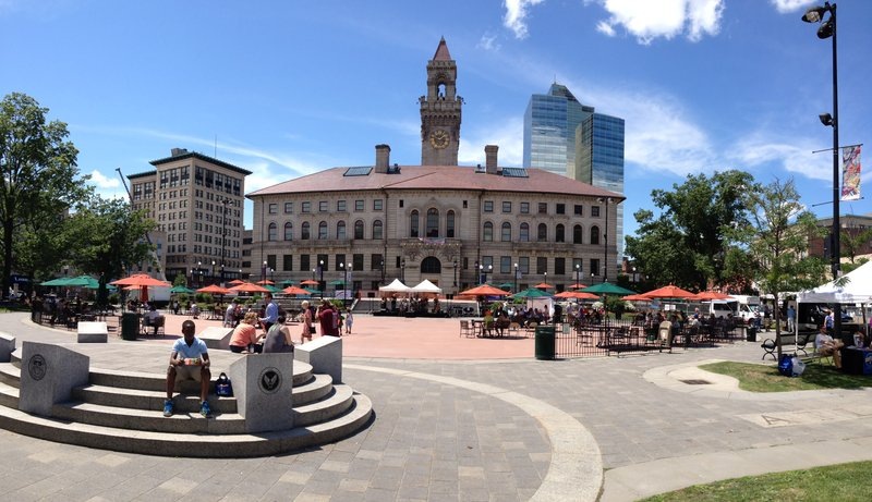Holiday Inn Express Worcester Downtown-Worcester City Hall Plaza<br/>Image from Leonardo