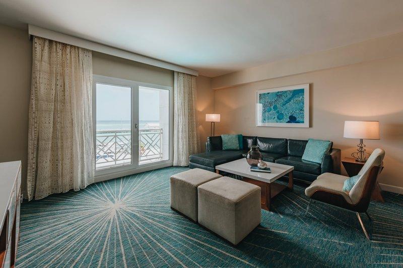 Renaissance Aruba Resort & Casino - Executive Suite - Living Area <br/>Image from Leonardo