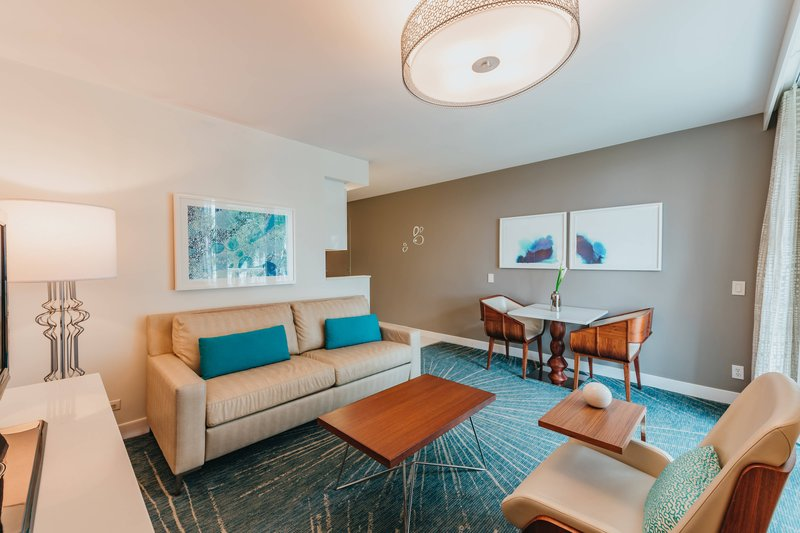 Renaissance Aruba Resort & Casino - Suite - Living Area <br/>Image from Leonardo