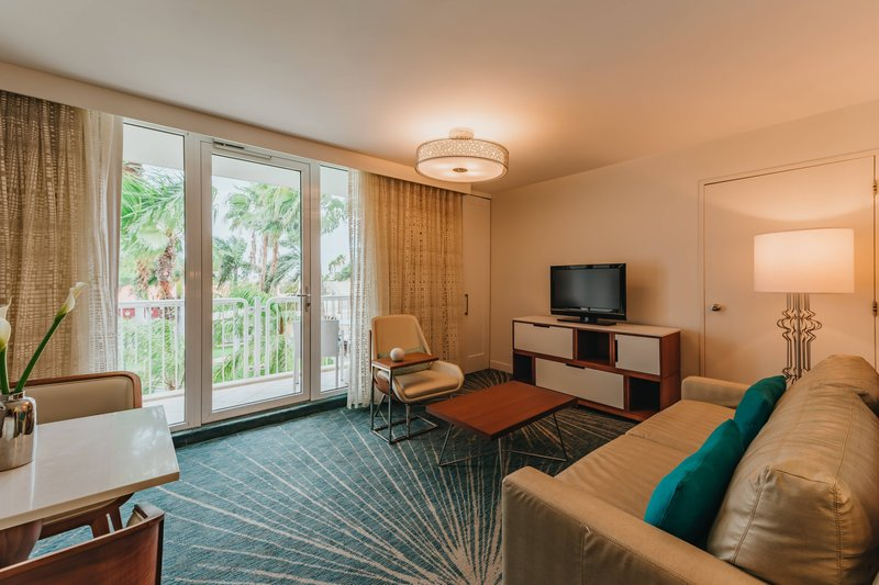 Renaissance Aruba Resort & Casino - Island Suite - Living Area <br/>Image from Leonardo