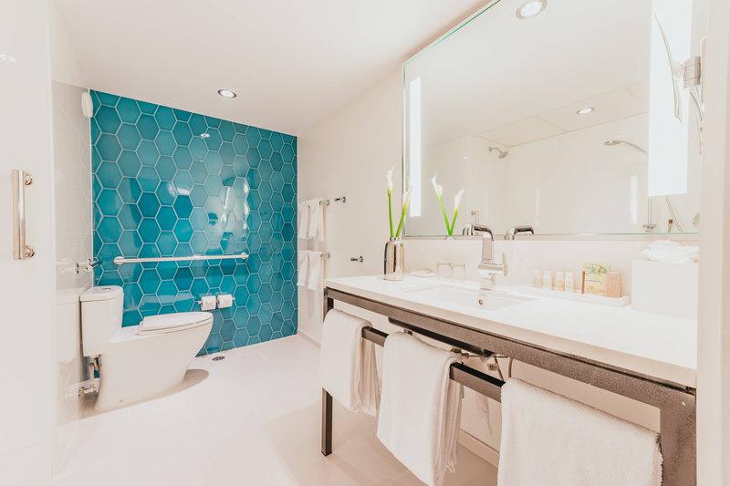 Renaissance Aruba Resort & Casino - Island Suite - Accessible Bathroom <br/>Image from Leonardo