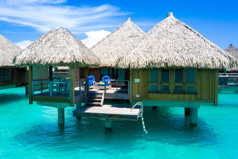 St Regis Resort Bora Bora - Overwater Deluxe Suite Villa Mt Oteman View <br/>Image from Leonardo
