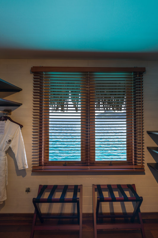 St Regis Resort Bora Bora - Two Bedrooms Overwater Royal Suite Villa Mt Otemanu View Closet <br/>Image from Leonardo