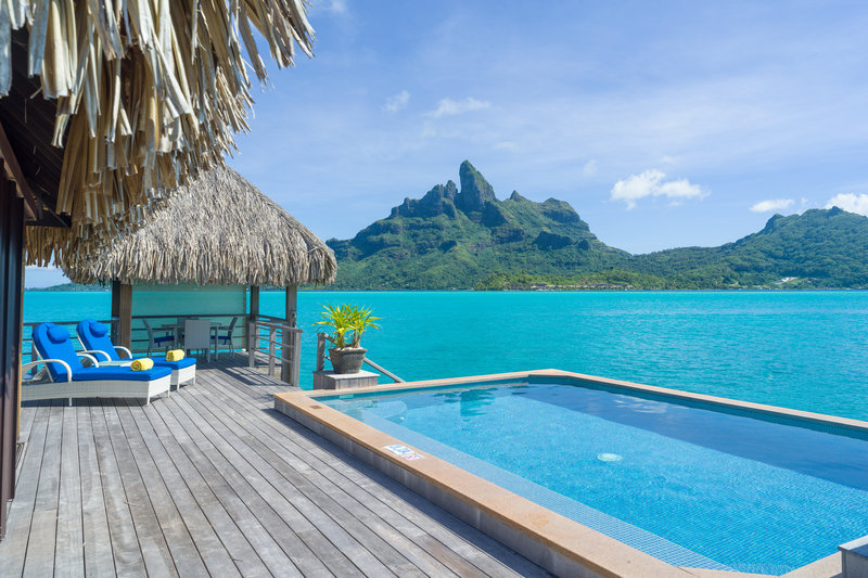 St Regis Resort Bora Bora - Two Bedrooms Overwater Royal Suite Villa Mt Otemanu View Swimming Pool <br/>Image from Leonardo