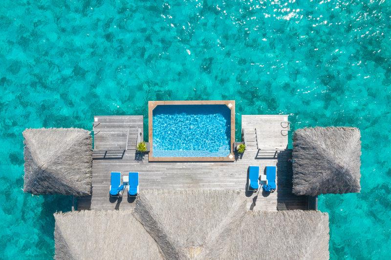St Regis Resort Bora Bora - Two Bedrooms Overwater Royal Suite Villa Mt Otemanu View <br/>Image from Leonardo