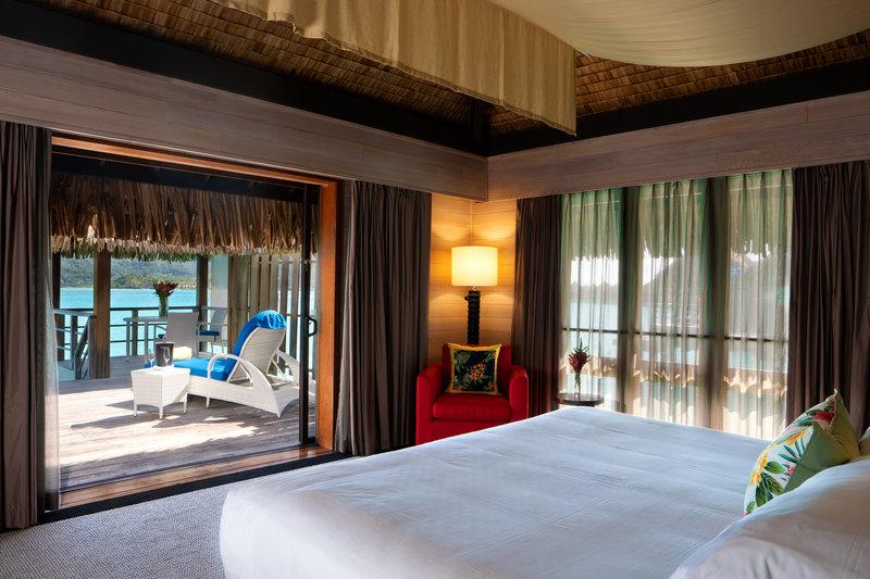 St Regis Resort Bora Bora - King Overwater Deluxe Suite Villa <br/>Image from Leonardo