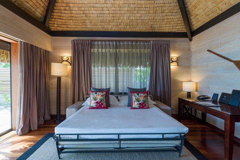 St Regis Resort Bora Bora - Beach Front Suite Villa With Pool Sofa Bed <br/>Image from Leonardo