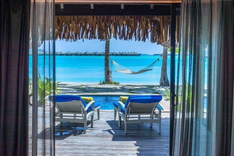 St Regis Resort Bora Bora - Beach Front Suite Villa With Pool View <br/>Image from Leonardo