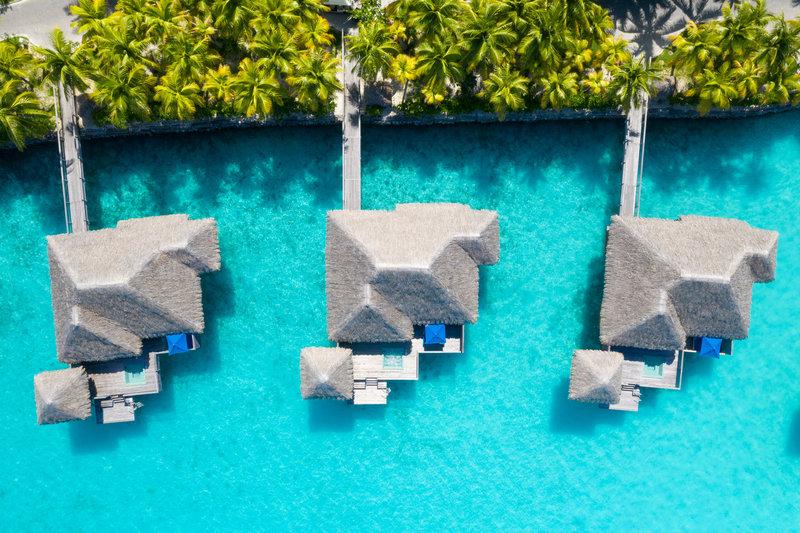 St Regis Resort Bora Bora - Overwater Premier Suite Villa Exterior <br/>Image from Leonardo