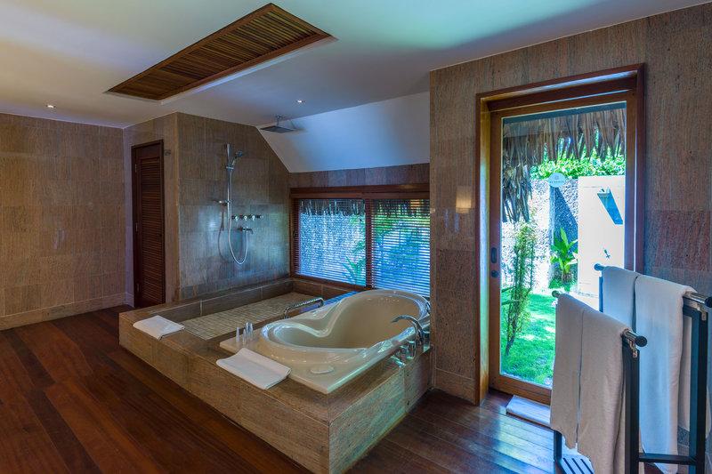 St Regis Resort Bora Bora - Garden Suite Villa With Pool Bathroom <br/>Image from Leonardo