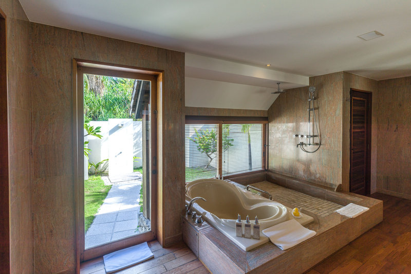 St Regis Resort Bora Bora - Two Bedrooms Garden Suite Villa With Pool Bathroom <br/>Image from Leonardo