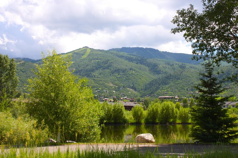 Holiday Inn Steamboat Springs-View from King Suite<br/>Image from Leonardo