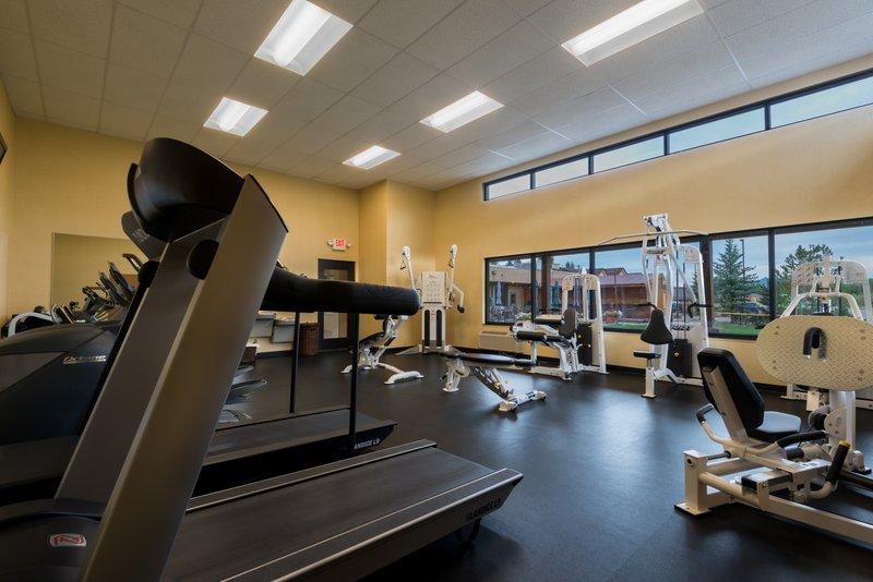 Holiday Inn Steamboat Springs-Fitness Center<br/>Image from Leonardo