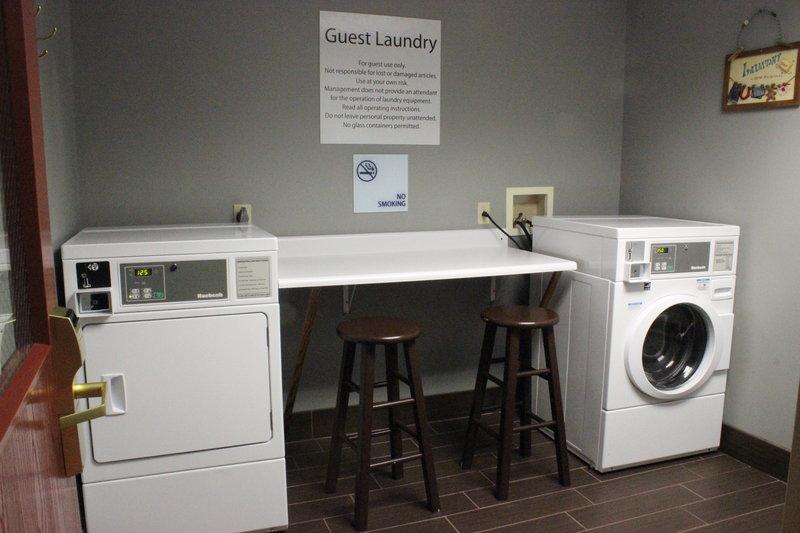 Holiday Inn Express Hanover-Laundry Facility<br/>Image from Leonardo
