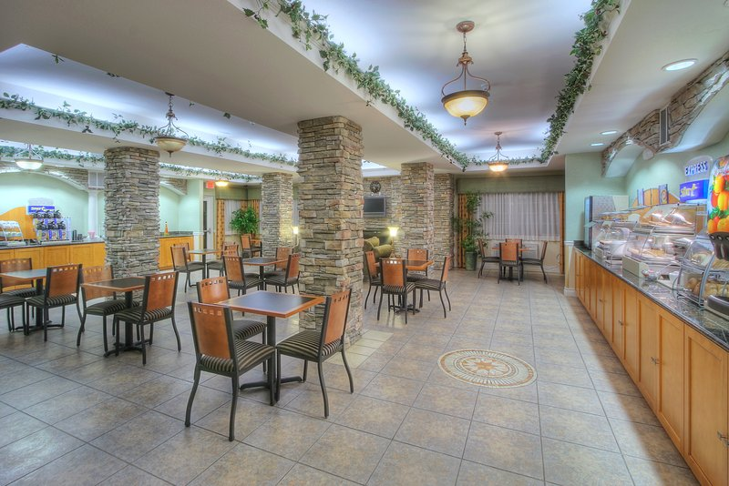 Holiday Inn Express & Suites Carlsbad-Breakfast Area<br/>Image from Leonardo