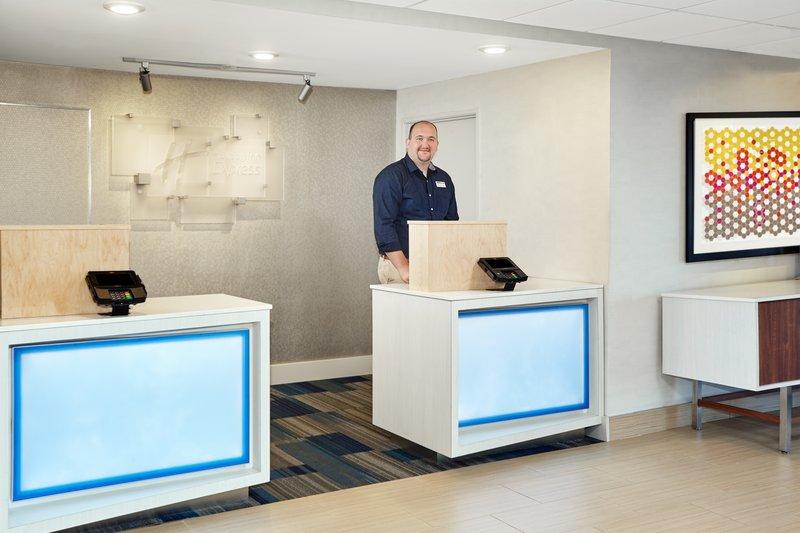 Holiday Inn Express Sheboygan-Kohler (I-43)-Front Desk<br/>Image from Leonardo