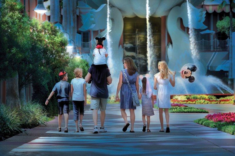 Walt Disney World Swan - Hotel Grounds <br/>Image from Leonardo