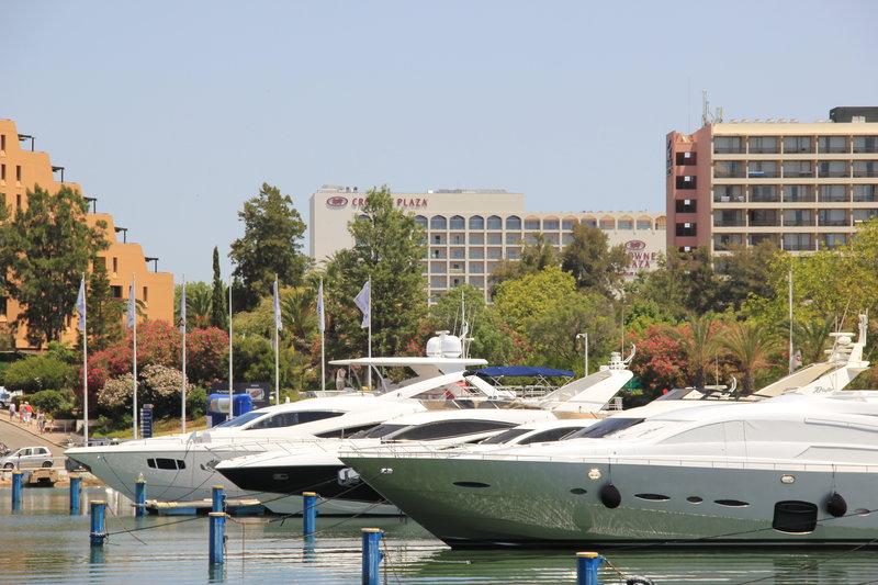 Crowne Plaza Vilamoura - Algarve-Area Attractions  Marina<br/>Image from Leonardo