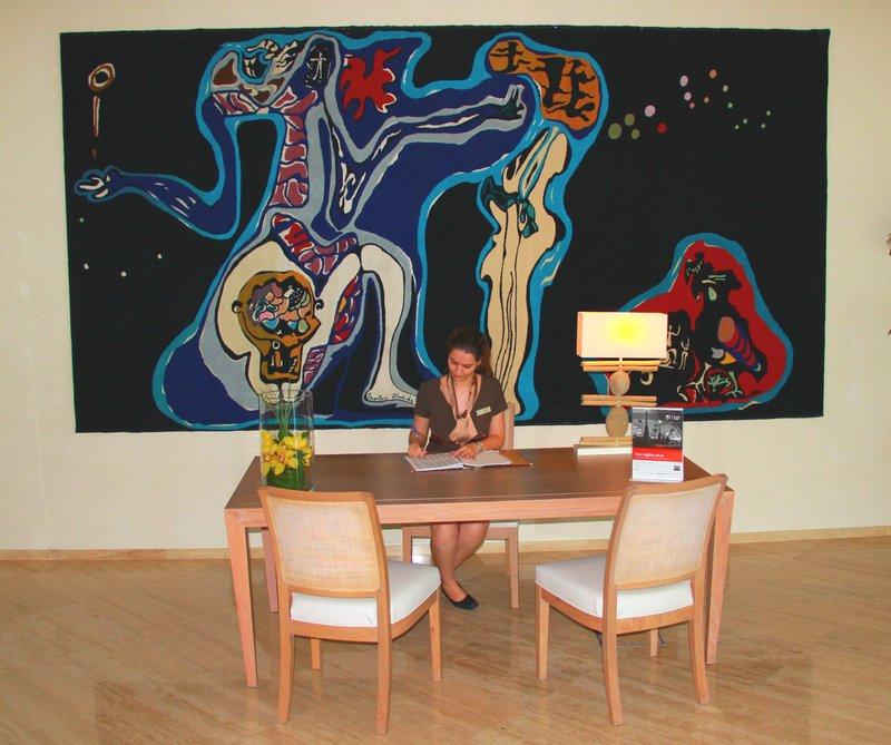 Crowne Plaza Vilamoura - Algarve-Reception Area<br/>Image from Leonardo