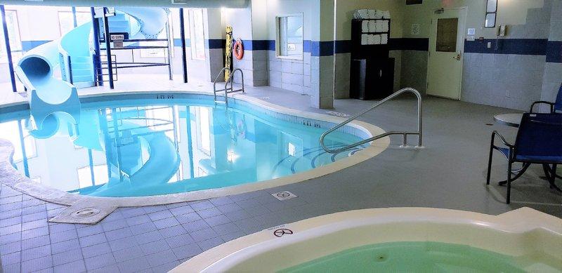 Holiday Inn Hotel & Suites Regina-Swimming pool, water slide and whirlpool<br/>Image from Leonardo