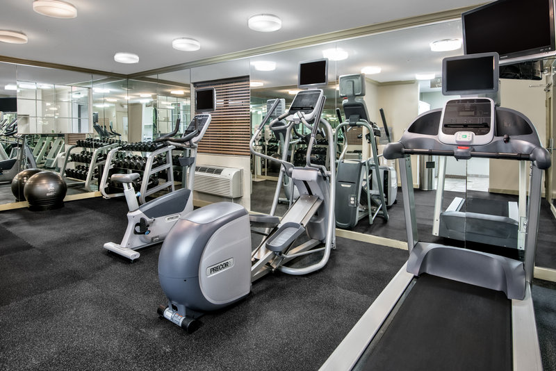 Candlewood Suites Galveston-Guest Fitness Center<br/>Image from Leonardo