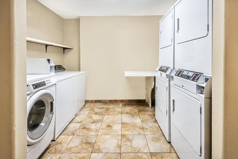 Candlewood Suites Galveston-Laundry Facility<br/>Image from Leonardo