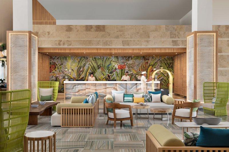 Hilton La Romana, an All Inclusive Adult Rst - Hilton La Romana Lobby Front Desk <br/>Image from Leonardo
