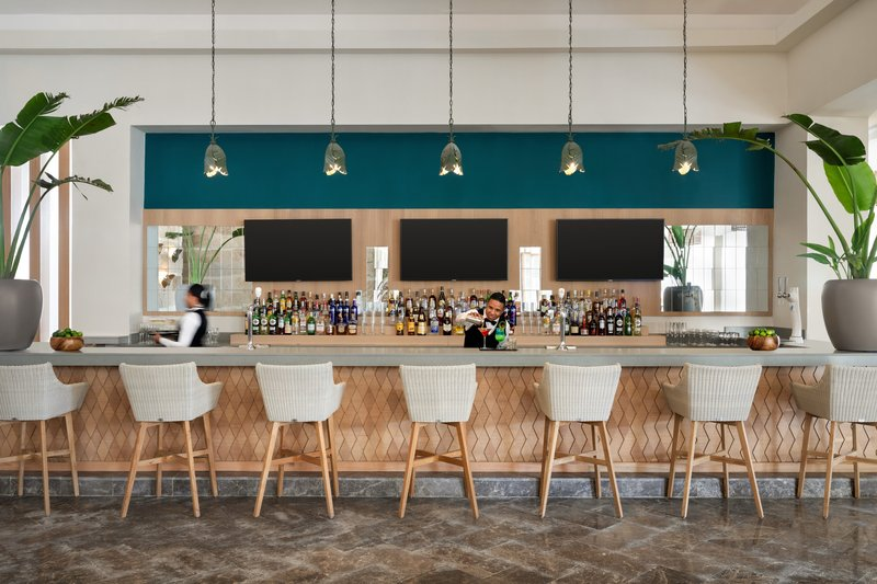 Hilton La Romana, an All Inclusive Adult Rst - Hilton La Romana Lobby Bar <br/>Image from Leonardo