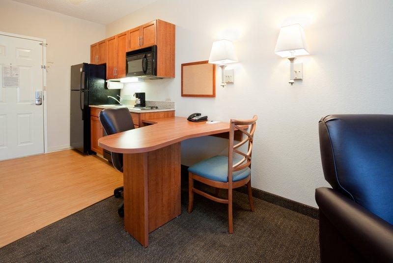 Candlewood Suites New Bern-Guest Suite Workspace<br/>Image from Leonardo