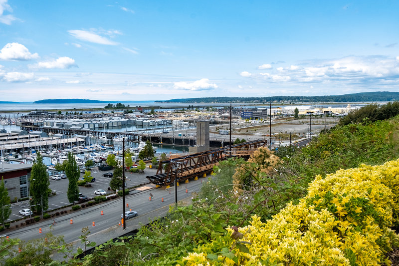 Hotel Indigo Seattle Everett Waterfront-Port of Everett Marina<br/>Image from Leonardo