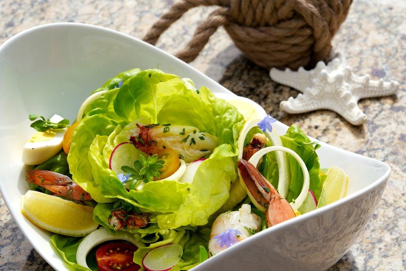 Hotel Indigo Seattle Everett Waterfront-Seafood Salad<br/>Image from Leonardo