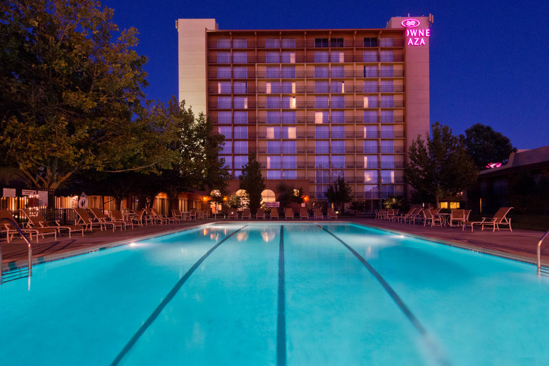 Crowne Plaza Albuquerque-Exterior Pool<br/>Image from Leonardo