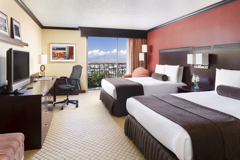 Crowne Plaza Albuquerque-Queen Bed Guest Room<br/>Image from Leonardo