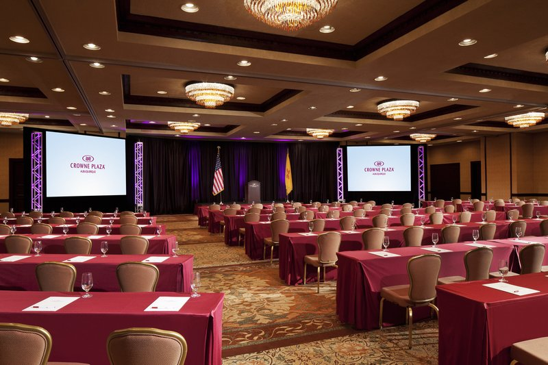 Crowne Plaza Albuquerque-New Mexico Ballroom<br/>Image from Leonardo