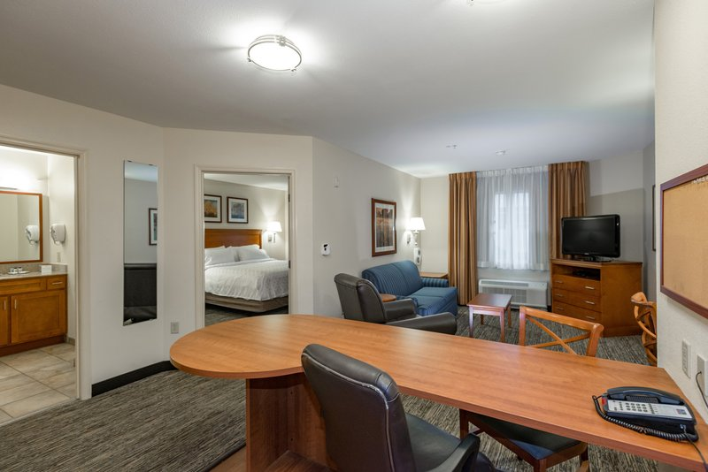 Candlewood Suites Mobile-Downtown-Our large 1 Bedroom Suites have separate bedrooms <br/>Image from Leonardo