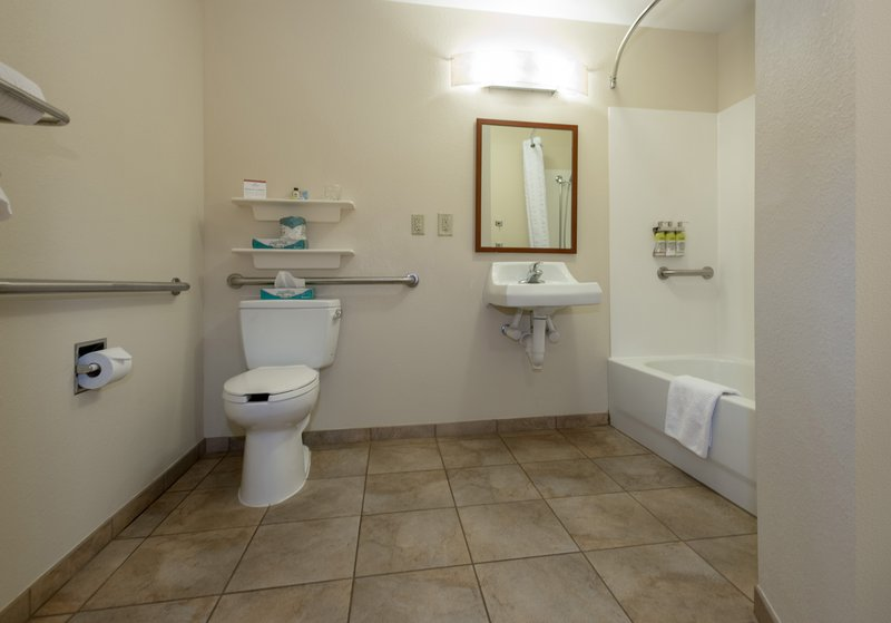Candlewood Suites Mobile-Downtown-Bathroom Amenities<br/>Image from Leonardo