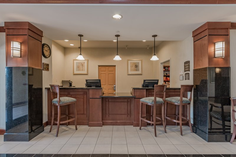 Staybridge Suites South Bend-University Area-Front Desk<br/>Image from Leonardo