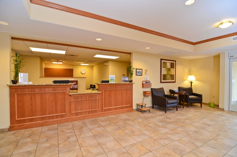 Candlewood Suites Chambersburg-Front Desk<br/>Image from Leonardo