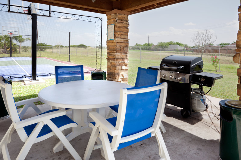 Staybridge Suites Brownsville-Outdoor Living Room<br/>Image from Leonardo