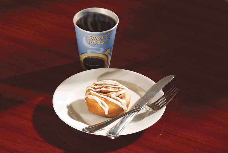 Holiday Inn Express & Suites Thunder Bay-Start your day off with our siganature cinnamon bun and coffee.<br/>Image from Leonardo
