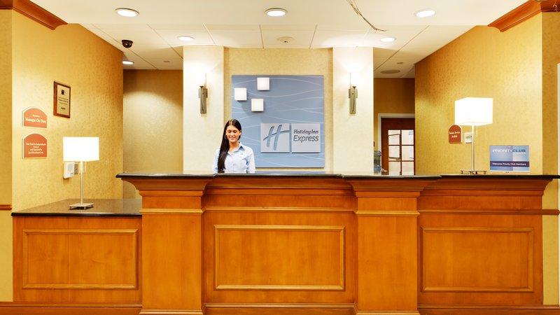 Holiday Inn Express & Suites Long Island-East End-Front Desk<br/>Image from Leonardo