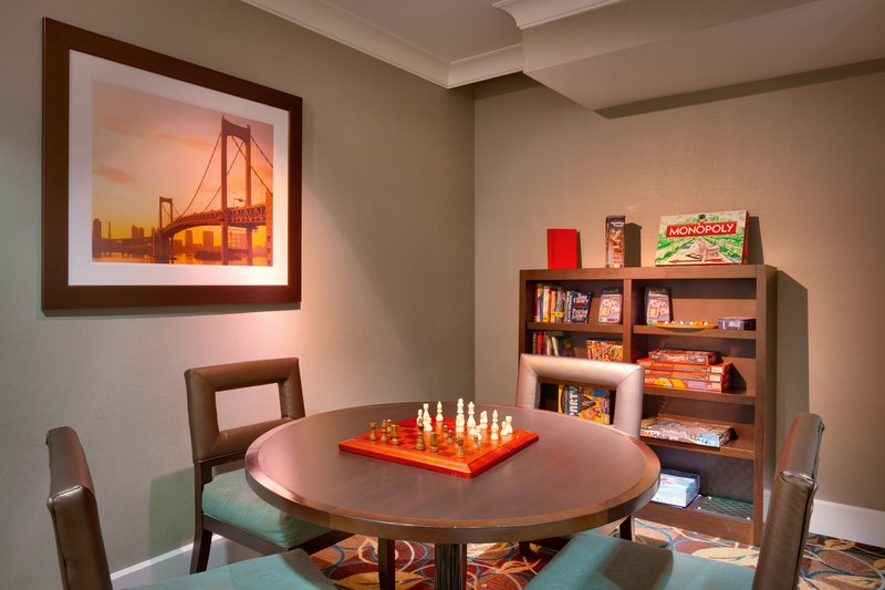 Staybridge Suites Peoria-Downtown-Use a board game or borrow a book in this quiet area of our lobby<br/>Image from Leonardo