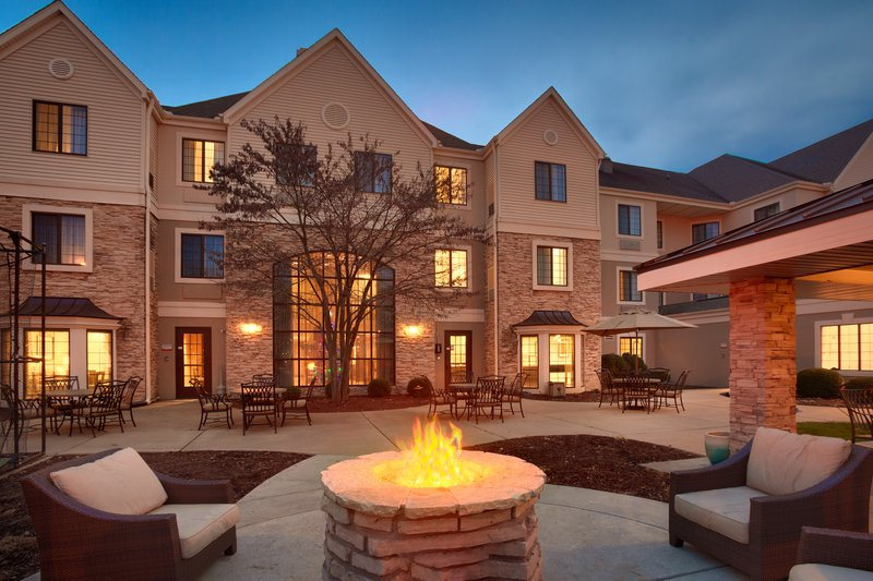Staybridge Suites Peoria-Downtown-Relax outside by the firelight after a long day<br/>Image from Leonardo