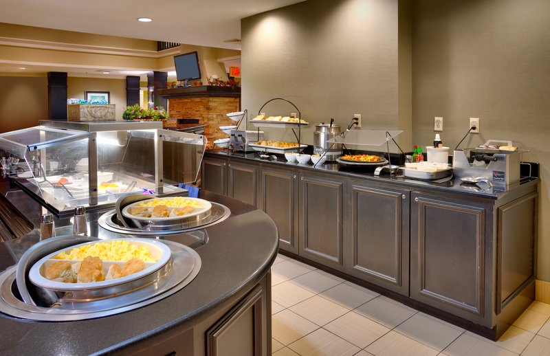 Staybridge Suites Peoria-Downtown-Hot eggs and breakfast meat served daily<br/>Image from Leonardo