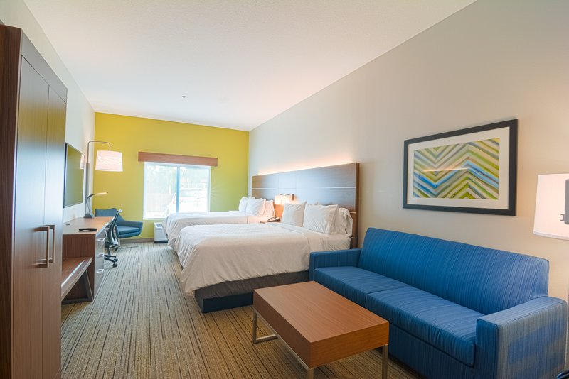 Holiday Inn Express & Suites Tampa USF Busch Gardens-Two Queen Beds with Sleeper Sofa<br/>Image from Leonardo