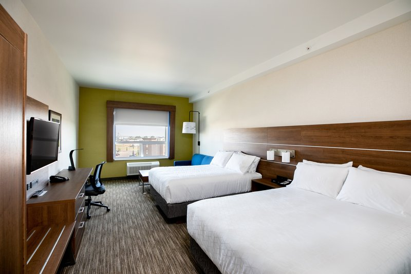 Holiday Inn Express Lethbridge Southeast-Family Suite can sleep 6 people<br/>Image from Leonardo