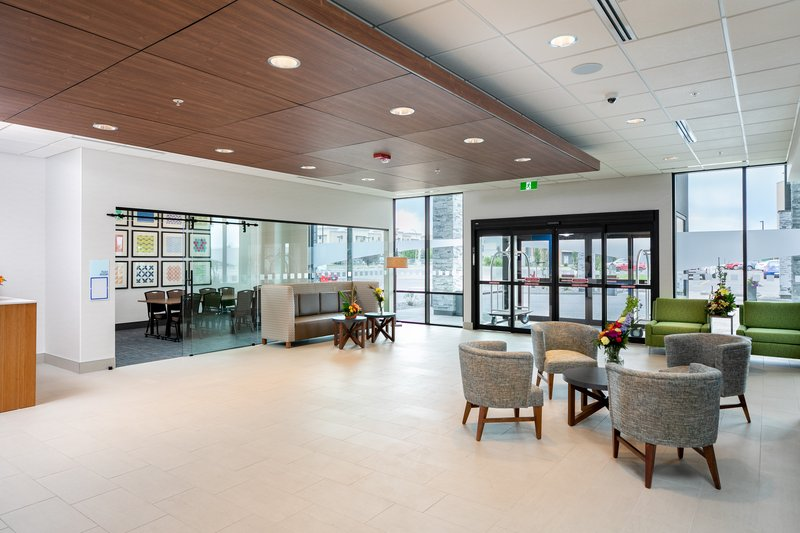Holiday Inn Express Lethbridge Southeast-Hotel Lobby<br/>Image from Leonardo