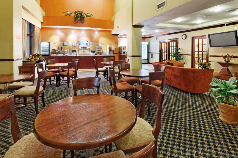 Holiday Inn Express Hotel & Suites Trincity Trinidad Airport-Guest Dining Lounge<br/>Image from Leonardo