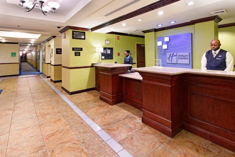 Holiday Inn Express Hotel & Suites Trincity Trinidad Airport-Reception Area<br/>Image from Leonardo