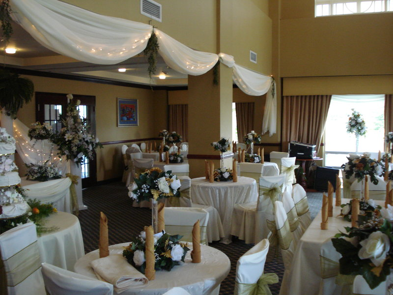 Holiday Inn Express Hotel & Suites Trincity Trinidad Airport-Great Room used for Small Wedding Reception<br/>Image from Leonardo